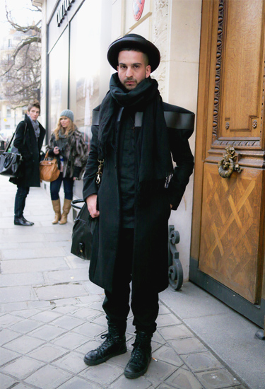 Vilsbol de Arce coat · Paris Fashion Week