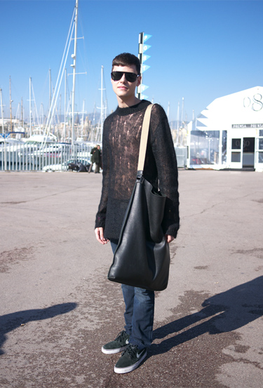 Bag Miguel Palacios · Streetstyle 080 Barcelona Fashion