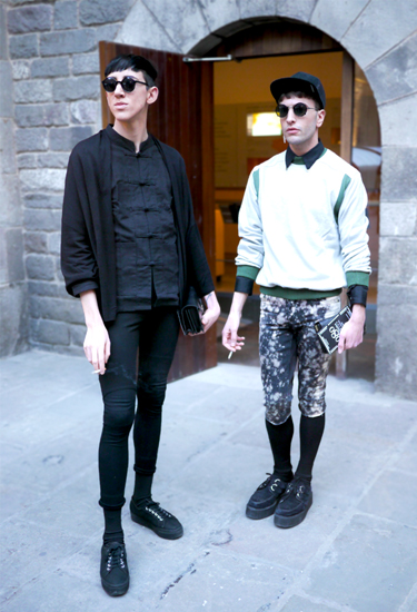 Joel et son monde + Javier des Leon at 080 Barcelona Fashion