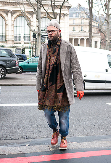 Angelo Flaccavento at Paris Fashion Week