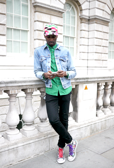 London Streetstyle | One Nigerian Boy
