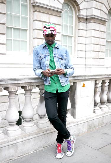 London Streetstyle | One Nigerian Boy