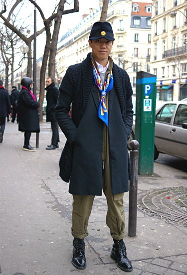 Tendencia militar revisitada · Paris Streetstyle