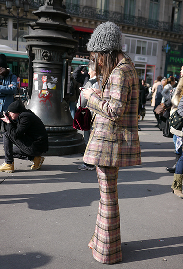 Checkered Suit | Paris
