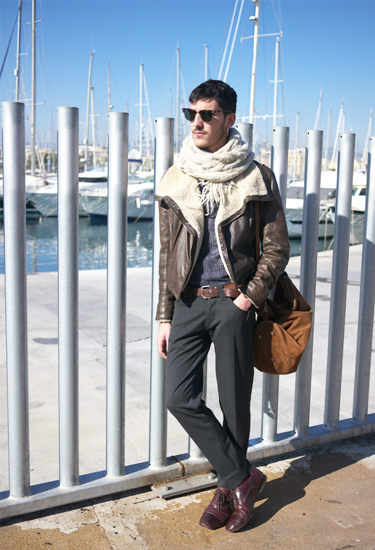 Guillem Pou at 080 Barcelona Fashion