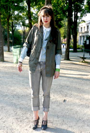 Army style · Paris Streetstyle
