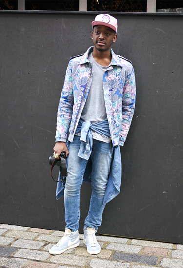 Denim | London Fashion Week Streetstyle