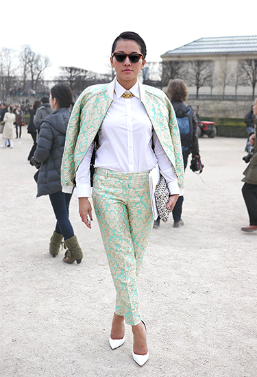 Brocade Suit | Paris