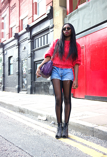Levi's shorts · London streetstyle
