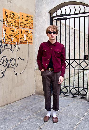 Matt · Paris · Streetstyle