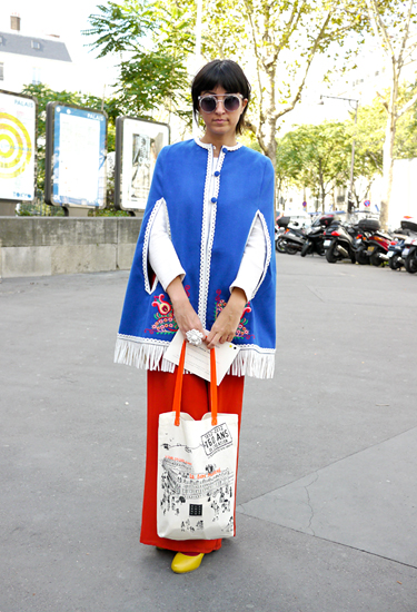 My Tea Cup   Street Style from Paris Fashion Week