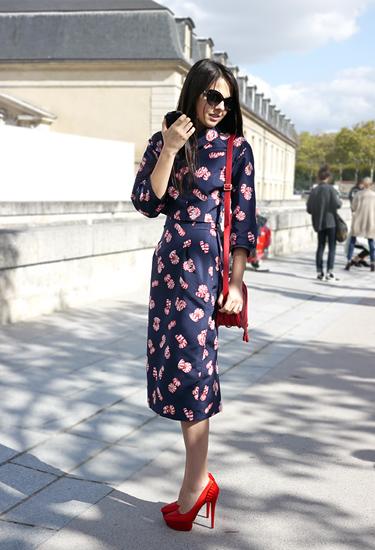 Fashion Blogger at Paris Fashion Week
