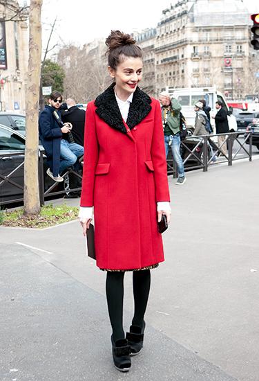 Natalia Alaverdian | Red Coat