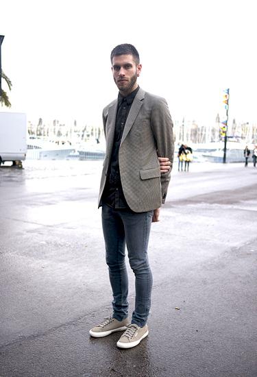 Christian at 080 Barcelona Fashion