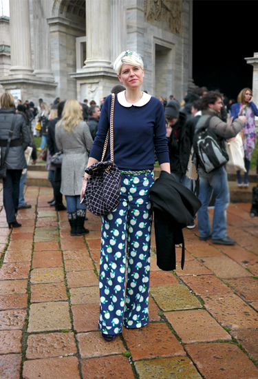 Pantalons Miu Miu · Milan Streetstyle