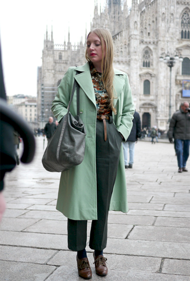 Vintage Style · Milan Fashion Week