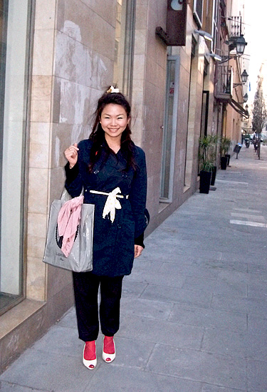 Eriko · In the street · Barcelona