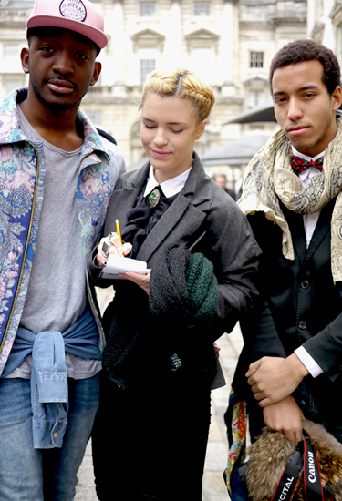 The Fashion Trio | London Streetstyle