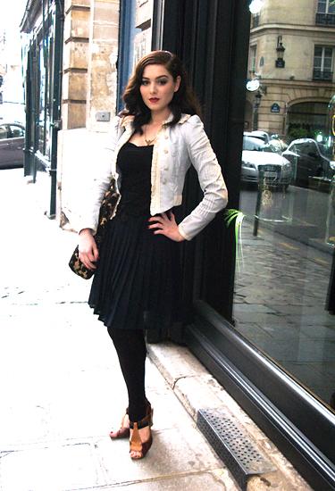 Scarlett Diamond · Paris Streetstyle