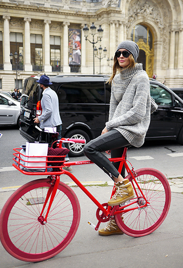 Model Off Duty | Martone Bicycle