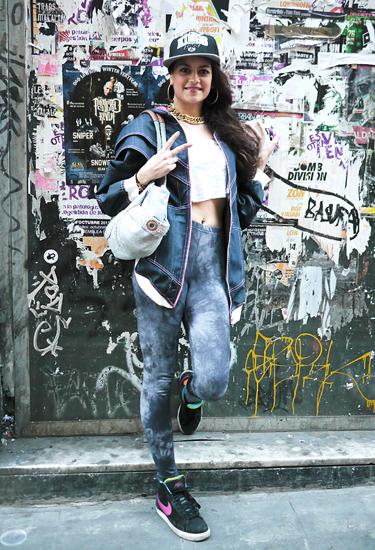 Agata wears Krizia Robustella | OFF 080 Street Style