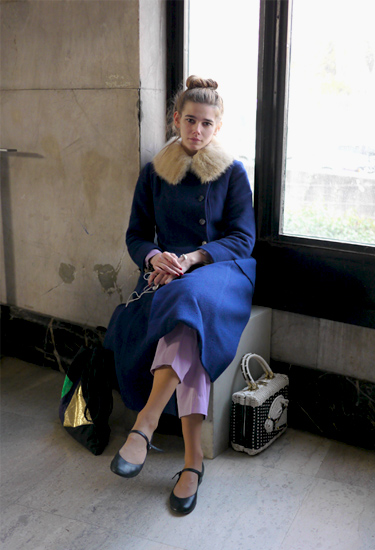 Vintage look · Paris Fashion Week