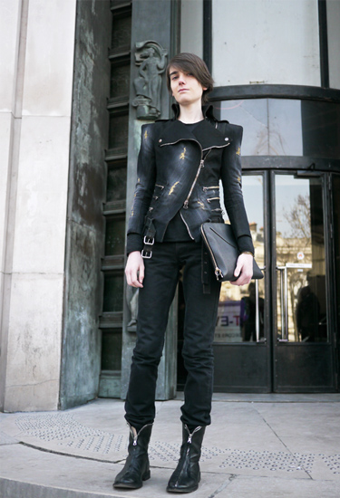 Balmain · Paris Fashion Week Streetstyle