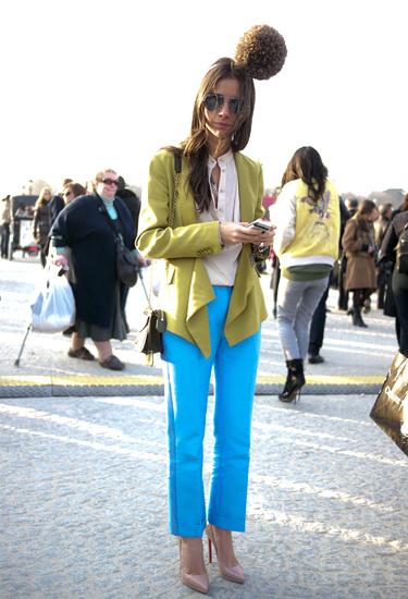 Bobble trend · Streetstyle Paris