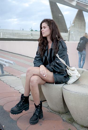 Boyfriend's Leather Jacket