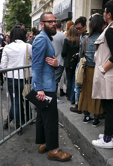 Angelo Flaccavento · Paris Fashion Week