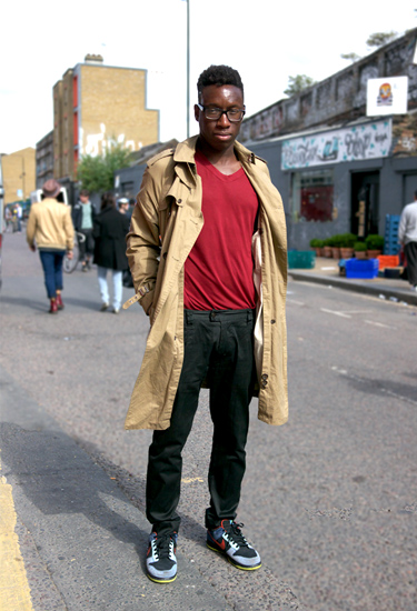 Casual Trench · London Shoreditch