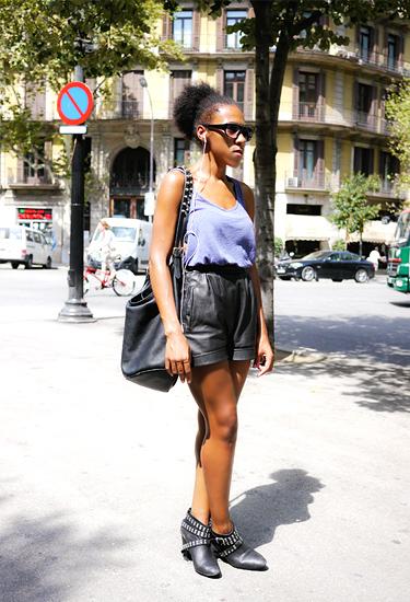 Fashion designer Teresa Helbig Assistant