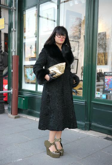 Round eyewear · Paris Fashion Week