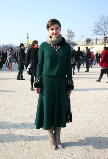 Elegance | PFW Street Look | Tuileries