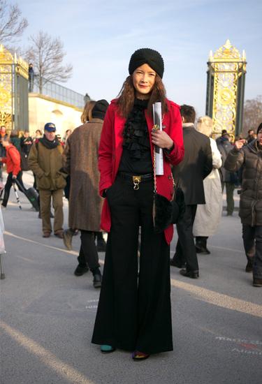Flare trend · Paris Streetstyle
