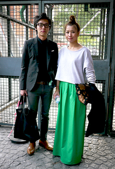 Maxi skirt for her · Streetstyle