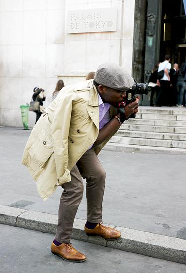 Paris Fashion Week Street Style Photographer