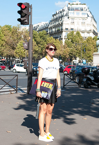 Paris Fashion Week Streetstyle | Elisa Nalin