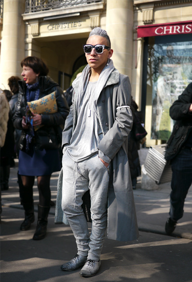 Total Silver Look · Paris Fashion Week