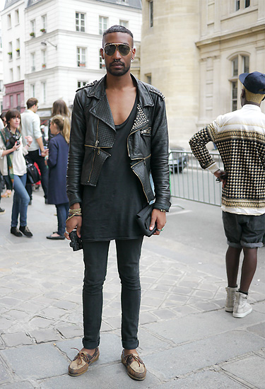 Perfecto trend · Paris Streetstyle