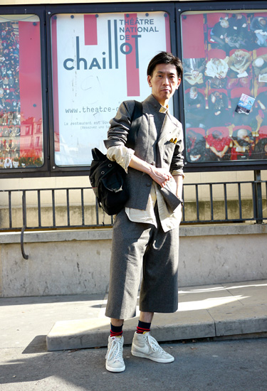Casual suit and sneakers · PFW