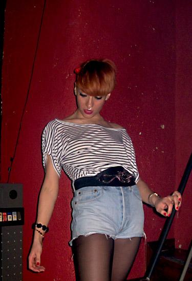 Sailor top and shorts