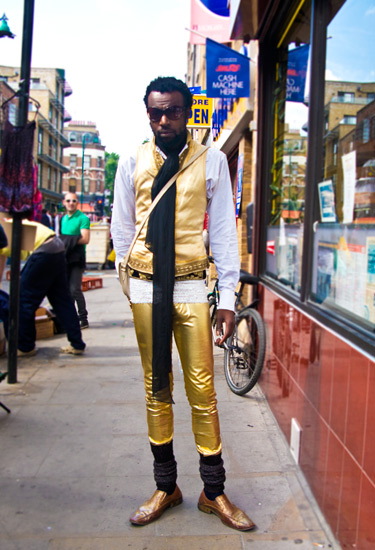 Golden Me · London streetstyle