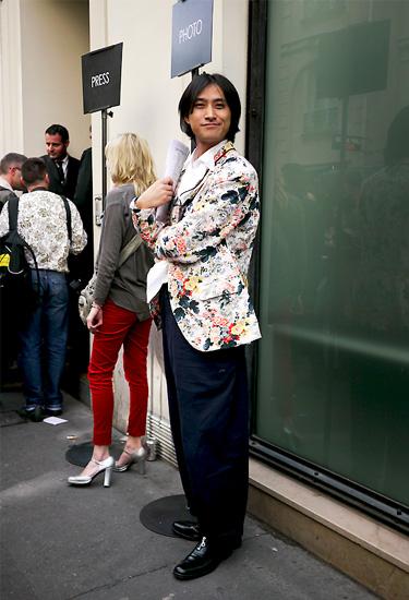 Yohji Yamamoto Outfit · Paris Streetstyle