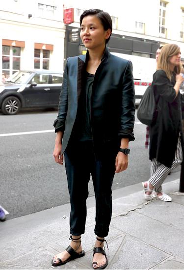 Haider Ackermann Outfit