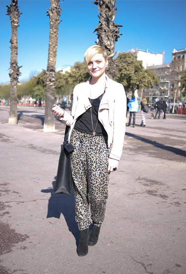 Animal print at 080 Barcelona Fashion