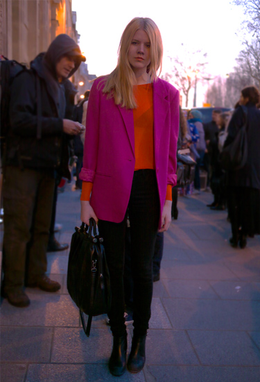Color blocking · Paris Streetstyle