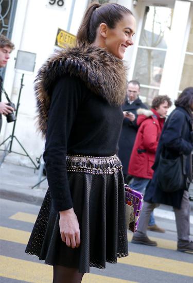 Openwork design · Paris Fashion Week