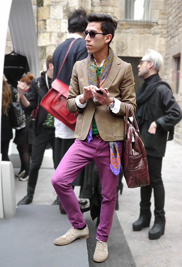 Gustavo | Barcelona Fashion Week Streetstyle