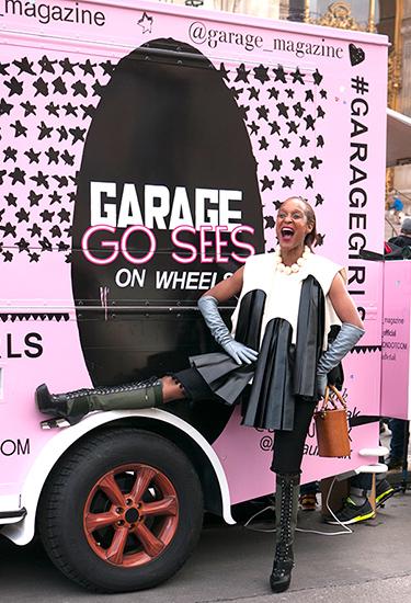 Michelle Elie Street Style, Garage Magazine